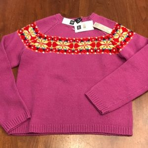 NEW wool GAP sweater